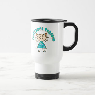 Cute Preschool Teacher Stainless Steel Travel Mug