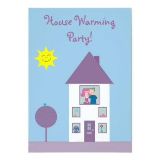 Cute & Pretty House Warming Party Card