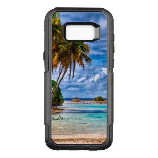 Cute Pretty Summer Hawaiian Beach Watercolor OtterBox Commuter Samsung Galaxy S8+ Case