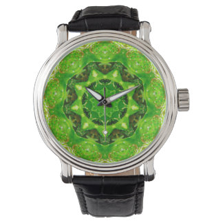 Cute Prickly Cactus Fractal Watch