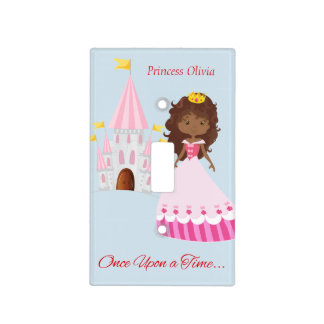 Cute Princess and Castle Light Switch Cover