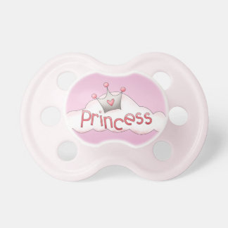 Cute Princess Crown Pink Pacifier
