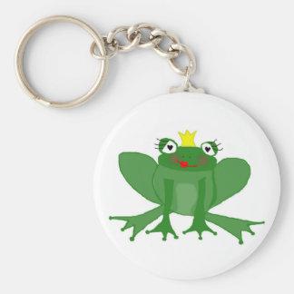 Cute Princess Frog Keychain