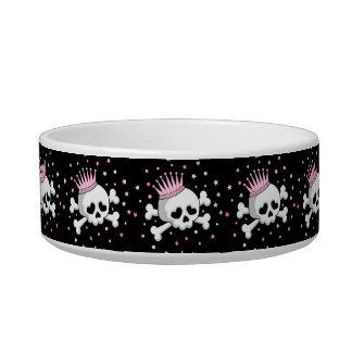 Cute Princess Skull Bowl