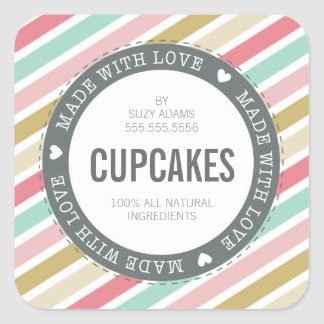 Browse the Cupcake Sticker Collection and personalize by colour, design, or style.