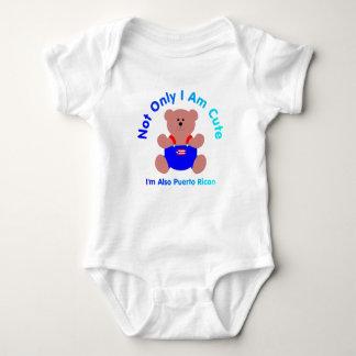 """""""Cute Puerto Rican"""" Baby Baby Bodysuit"""