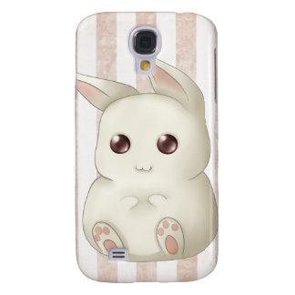 Cute Puffy Kawaii Bunny Rabbit Galaxy S4 Case