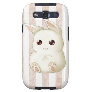 Cute Puffy Kawaii Bunny Rabbit Galaxy S3 Cover