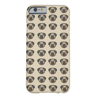 Cute Pug Dog Pattern iPhone Case