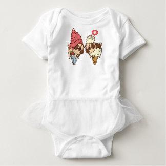 Cute Pug Ice Cream Cone Shirt