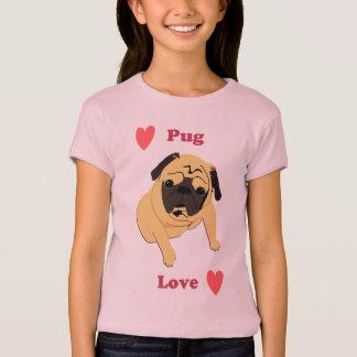 Cute Pug Love Dog T-Shirt