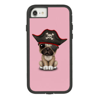 Cute Pug Puppy Pirate Case-Mate Tough Extreme iPhone 8/7 Case