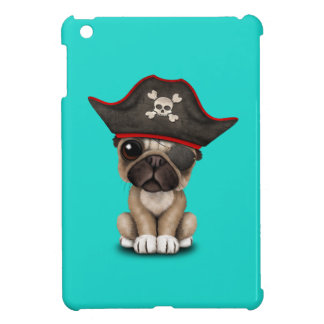 Cute Pug Puppy Pirate Cover For The iPad Mini