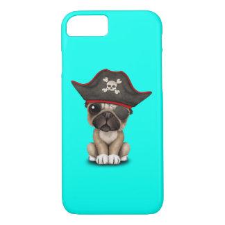 Cute Pug Puppy Pirate iPhone 8/7 Case