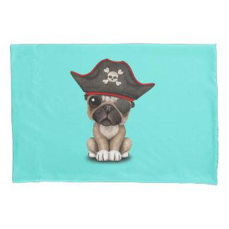 Cute Pug Puppy Pirate Pillowcase
