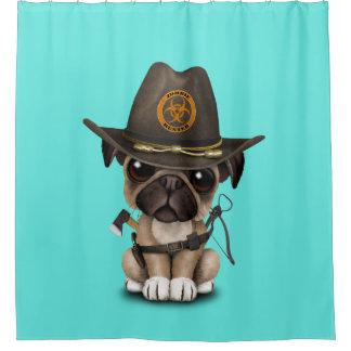 Cute Pug Puppy Zombie Hunter