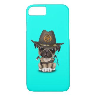 Cute Pug Puppy Zombie Hunter iPhone 8/7 Case