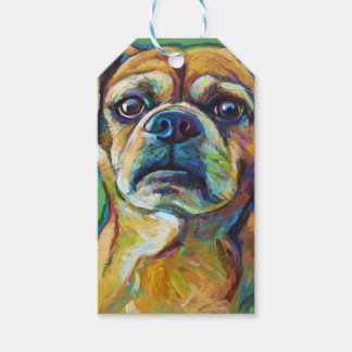 Cute PUGGLE Gift Tags
