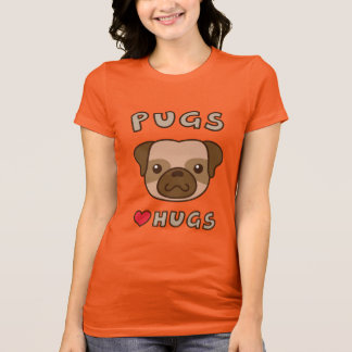 Cute Pugs love hugs, for puppy lovers T-Shirt