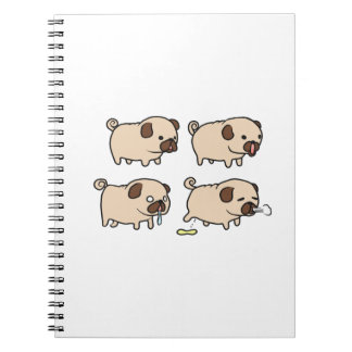 Cute Pugs Notebook