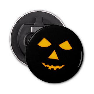 Cute Pumpkin Face Jack o Lantern Halloween Barware Button Bottle Opener