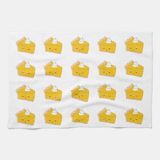 Cute Pumpkin Pie Slice Towel