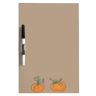 Cute Pumpkins Dry Erase Board