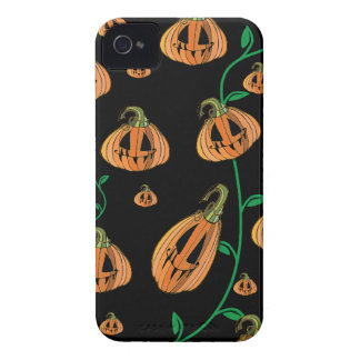Cute Pumpkins Halloween iPhone 4 Case-Mate Case