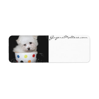 Cute Puppy Address Labels