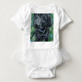 Cute puppy baby bodysuit