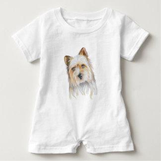 Cute Puppy Baby Romper