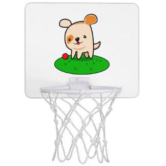 Cute puppy cartoon mini basketball hoop