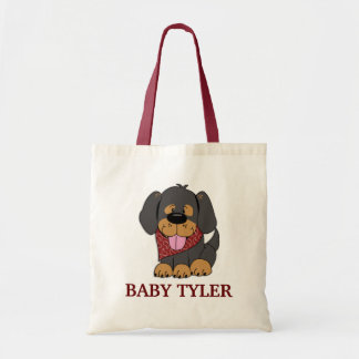 CUTE PUPPY DOG Baby Diaper Bag Tote
