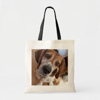 Cute Puppy Dog Custom Picture Tote Bag