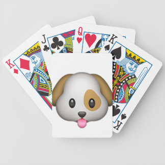Cute Puppy Imoji Bicycle Playing Cards
