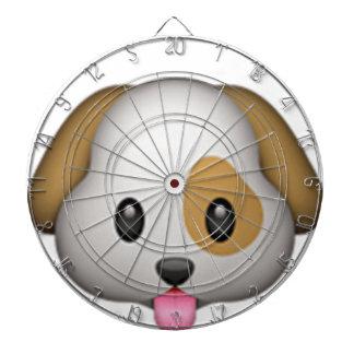 Cute Puppy Imoji Dartboard