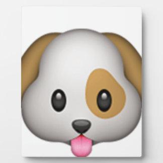 Cute Puppy Imoji Plaque