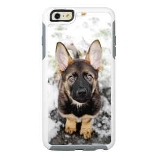 Cute Puppy Looking Up OtterBox iPhone 6/6s Plus Case