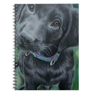 Cute puppy notebooks