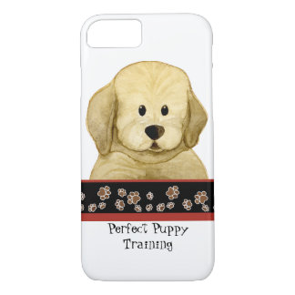 Cute Puppy Paws Paw Print Art Business Dog Care iPhone 7 Case