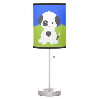 Cute Puppy Table Lamp