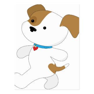 Cute Puppy Walker Postcard