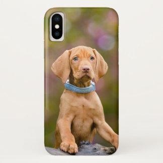 Cute puppyeyed Hungarian Vizsla Dog Puppy Photo // Case-Mate iPhone Case