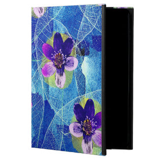 Cute Purple and Blue Artsy Floral Pattern Powis iPad Air 2 Case
