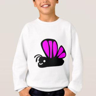 Cute purple butterfly sweatshirt
