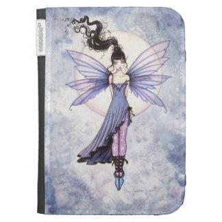Cute Purple Fairy Fantasy Art Kindle Cover