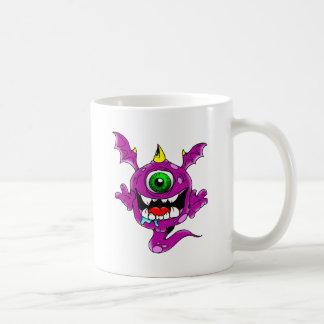 Cute Purple People Eater Monster Coffee Mug