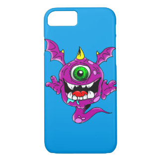Cute Purple People Eater Monster iPhone 8/7 Case