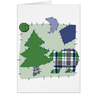 Cute Quilt Patch Card