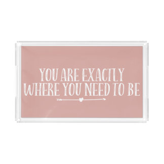 Cute Quote Tray